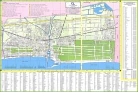 Viareggio tourist map