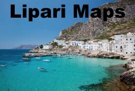 Lipari Island maps