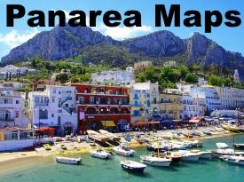 Panarea Island maps