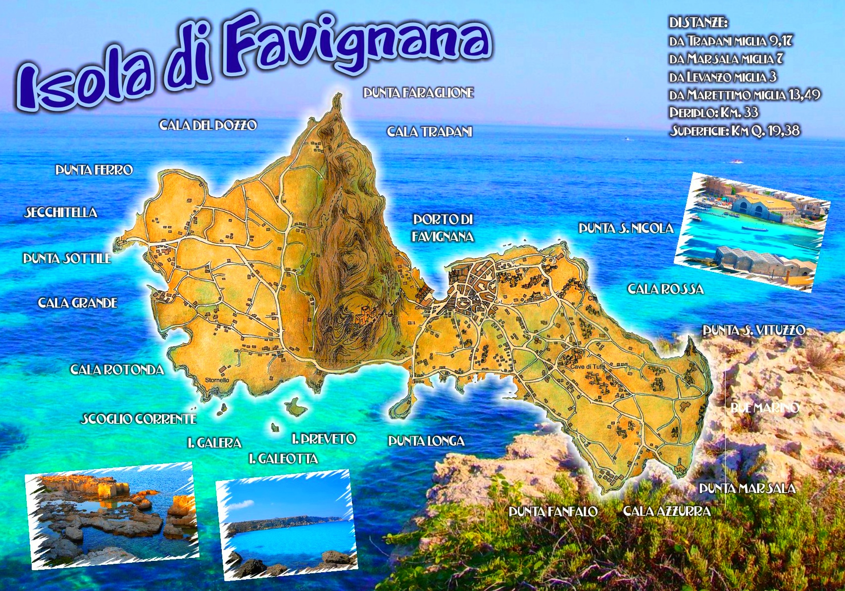 Favignana travel map