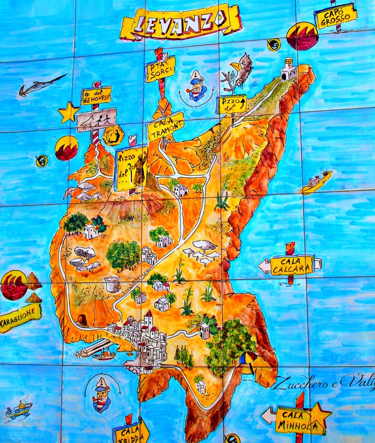 Levanzo Maps Italy Maps of Levanzo Island