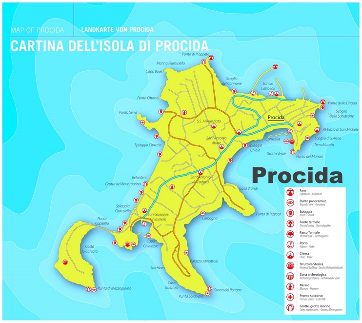 map of venice italy with Procida Sightseeing Map on Piazza Della Scala additionally Venise 2014 additionally Melbourne Zoo Map likewise High Resolution Maps additionally Cartagena Tourist Map.