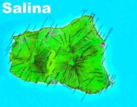 Salina tourist map