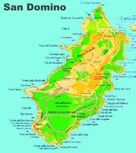 Isole Tremiti Maps Italy Maps of Isole Tremiti