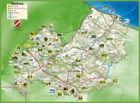 Molise reserves map