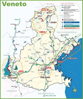 Veneto road map
