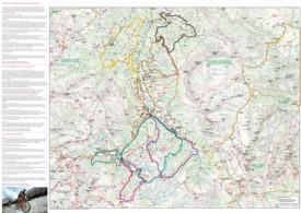 Alta Badia bike map