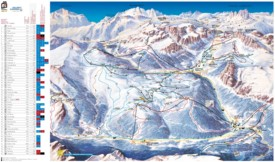 Alta Badia ski map