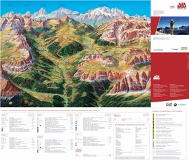 Alta Badia walks map