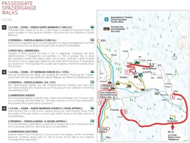 La Val walks map