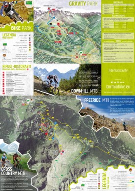 Bormio bike map