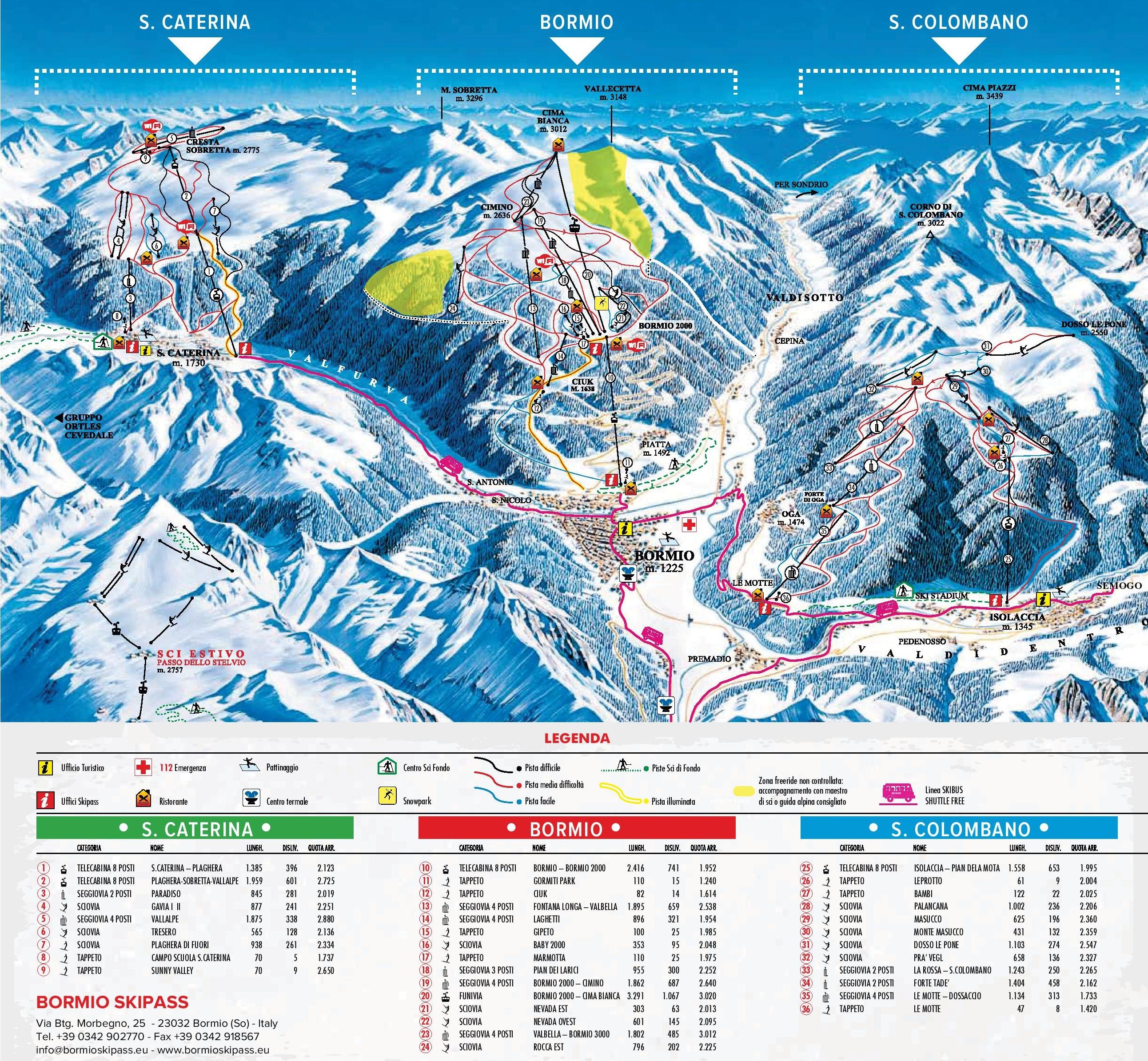 Bormio Maps Italy Maps of Bormio