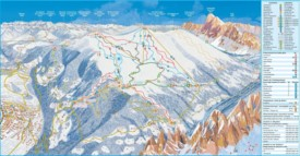 Brixen piste map