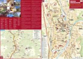 Brixen tourist map