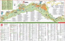 Canazei hotel map