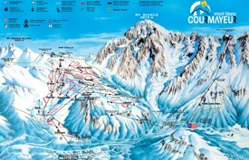 Courmayeur ski map