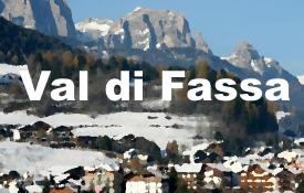 Val di Fassa maps