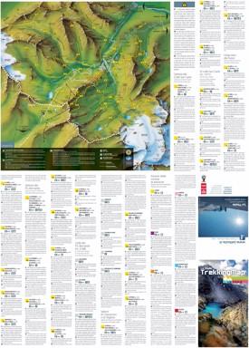 La Thuile trekking map