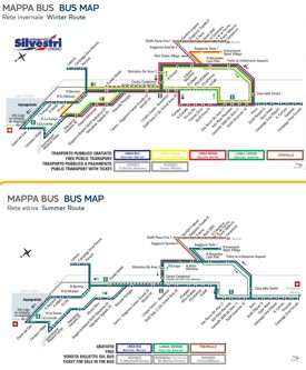 Livigno bus map