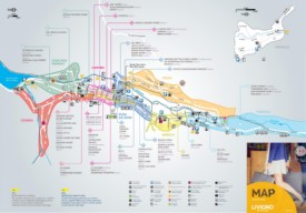 Livigno tourist map