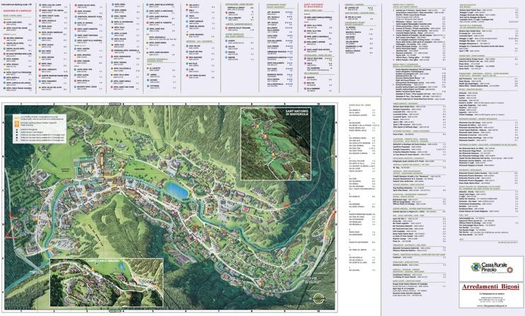 Madonna di Campiglio town map