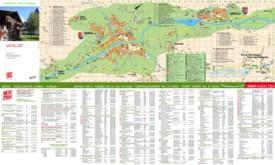 Moena hotel map