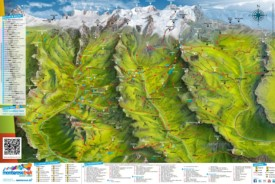 Monte Rosa summer map