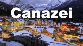 Canazei maps