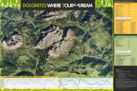 Val di Fassa bike map