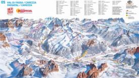 Val di Fassa Maps | Italy | Maps of Val di Fassa (Fassa Valley)
