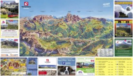 Val Gardena summer map