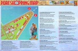 Port of Falmouth shopping map
