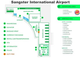 Sangster International Airport map