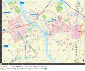 Fukuoka hotel map