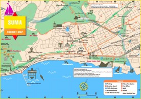 Suma tourist map