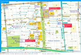 Nagoya Fushimi Area Map