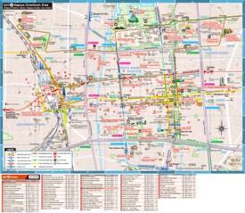 Nagoya hotel map