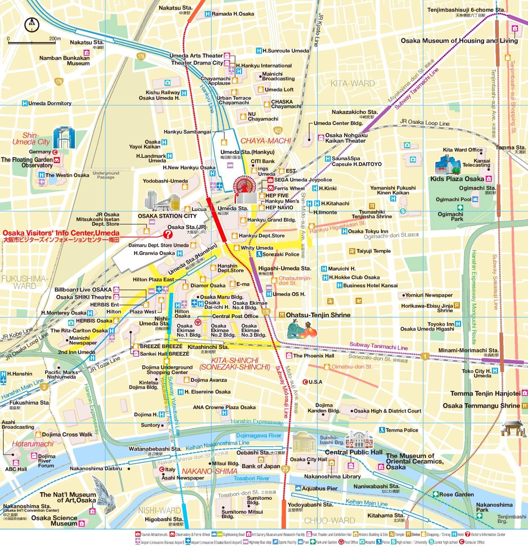 Kita Area Map