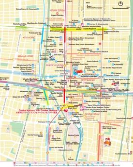 Osaka Maps Japan Maps of Osaka