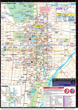 Sapporo Maps Japan Maps of Sapporo