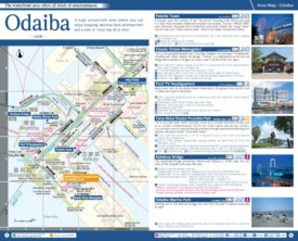 Odaiba map