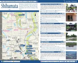 Shibamata map