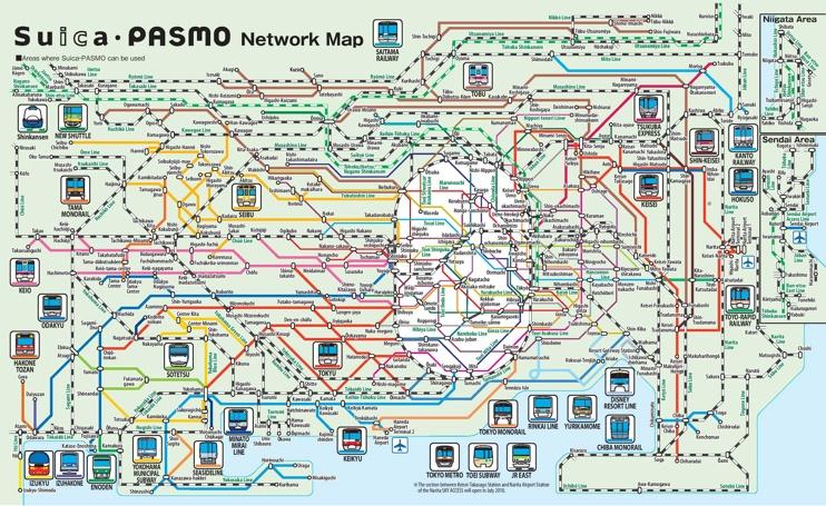 Tokyo Pasmo map