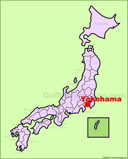 Yokohama Location Map