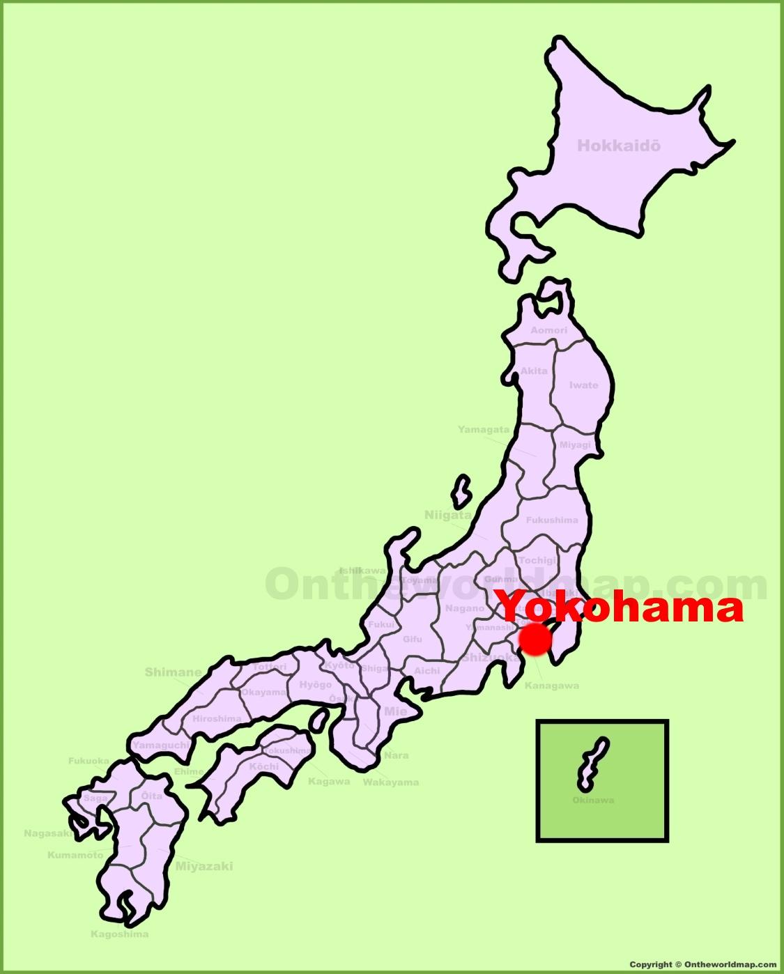 Yokohama location on the Japan Map on hilla map, asahikawa map, suginami map, taiohae map, nakameguro map, pusan map, nagasaki map, gotemba map, hokkaido map, honshu map, osaka map, kyoto map, japan map, kobe map, kanagawa map, shonan map, nagoya map, manila map, kawasaki map, taipei map,