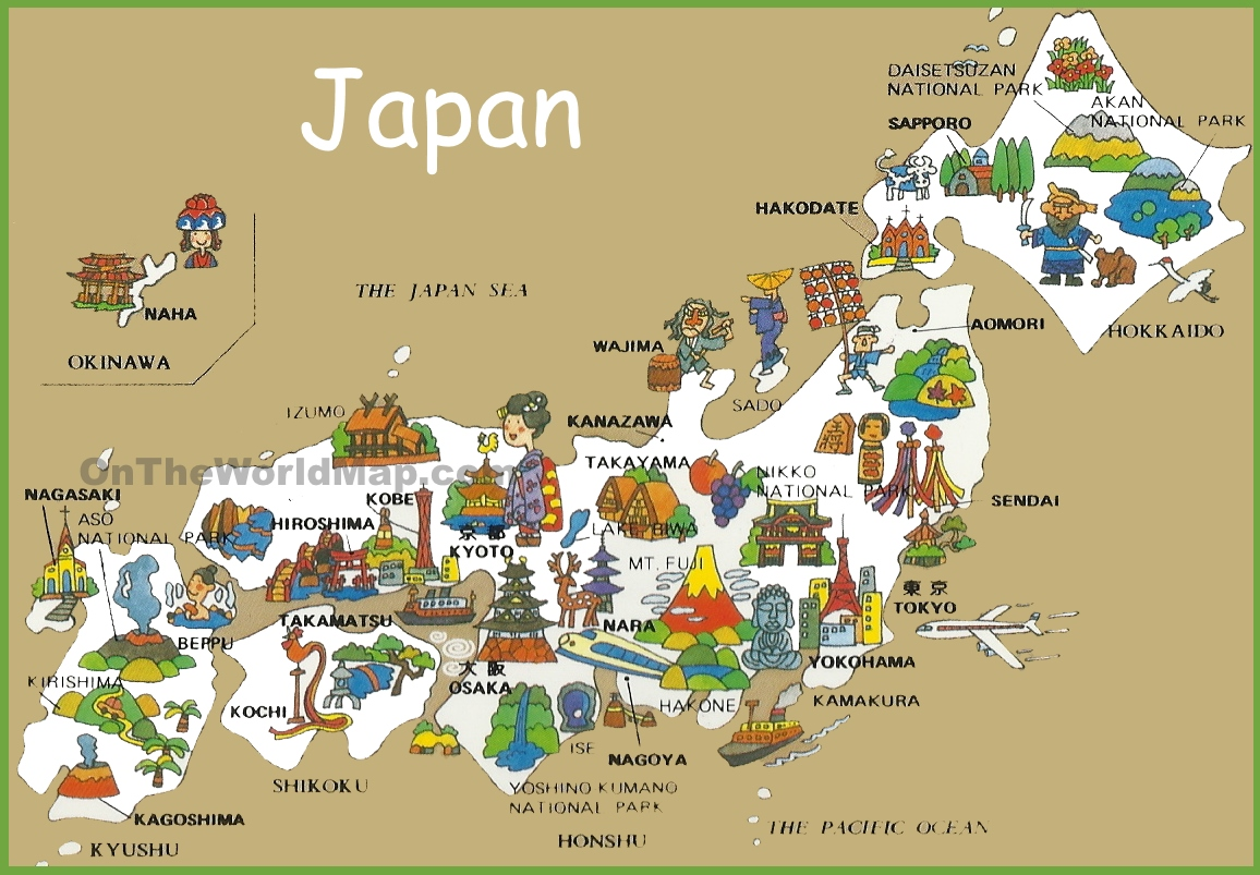 {Japan Maps – Japan Map For Tourist