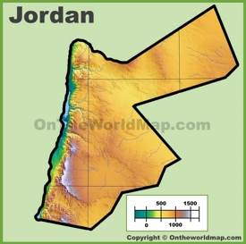 Jordan physical map