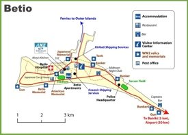 Betio map