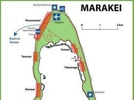 Marakei map