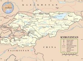 Kyrgyzstan road map